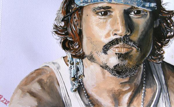 Johnny Depp by maja135able